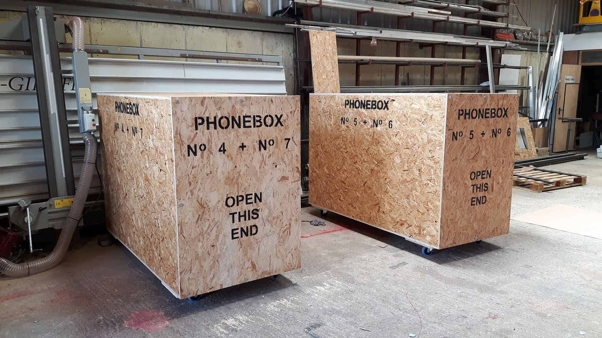Phonebox Crates